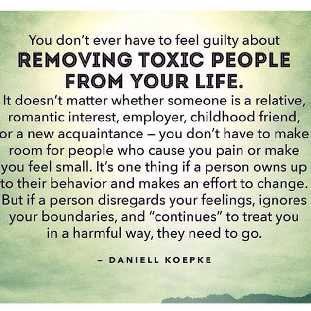 Toxic People Removal